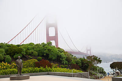 Photograph - Golden Gate Morning by Brenda Kean
