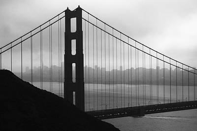 Photograph - Golden Gate North Tower by Scott Rackers