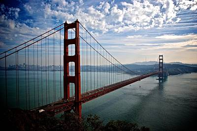 Photograph - Golden Gate Open by Eric Tressler