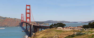 Sausalito Photograph - Golden Gate Panorama 7 by Jack Schultz