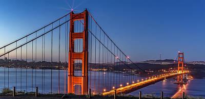Phil Clark Photograph - Golden Gate by Phil Clark