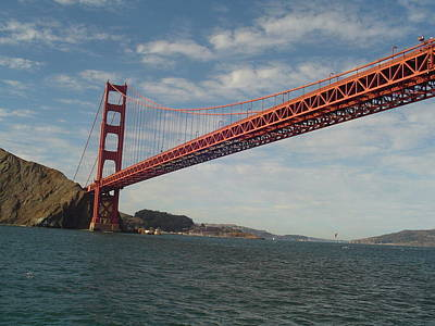 Photograph - Golden Gate by Vadim Levin