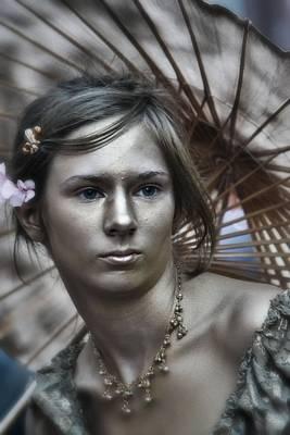 Photograph - Golden Girl 2 by Nadalyn Larsen