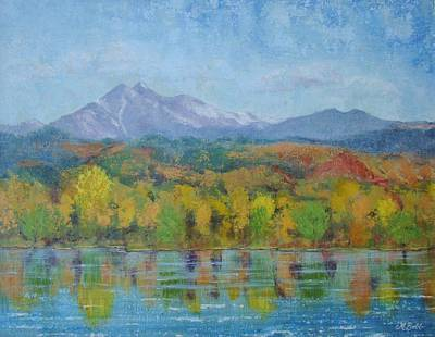 Painting - Golden Glory At Golden Ponds by Margaret Bobb