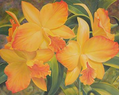 Golden Glow  Original by Bonnie Golden