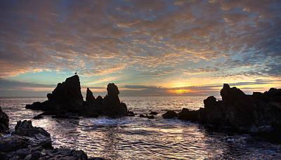 Photograph - Golden Glow Corona Del Mar Calfornia by Cliff Wassmann