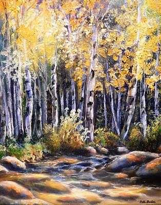 Painting - Golden Glow by Patti Gordon