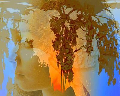Photograph - Golden Glow Three by Jodie Marie Anne Richardson Traugott          aka jm-ART