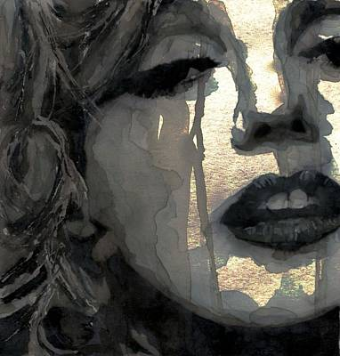 Blonde Painting - Golden Goddess by Paul Lovering