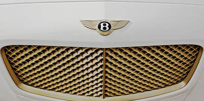 Golden Grill Bentley Art Print