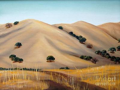 Painting - Golden Hills by AnnaJo Vahle