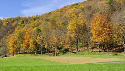 Season Photograph - Golden Hills by Luke Moore