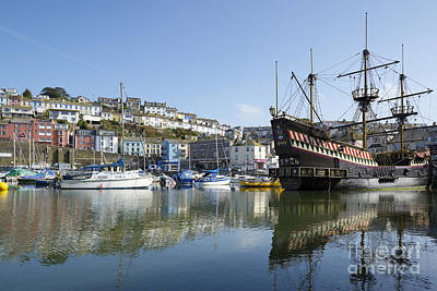 Photograph - Golden Hind 2 by Doug Wilton