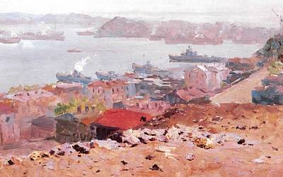 Golden Horn Bay Vladivostok Prints Art Print by Jake Hartz
