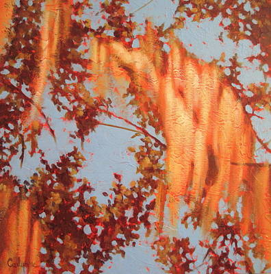 Painting - Golden Hour 3 by Carlynne Hershberger