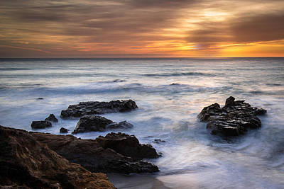 Photograph - Golden Hour ... Cambria by Tim Bryan