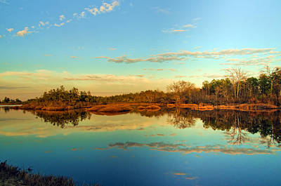 Photograph - Golden Hour Reflections by Beth Sawickie