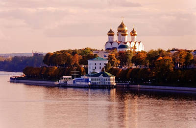 Photograph - Golden Hour. Yaroslavl. Russia by Jenny Rainbow