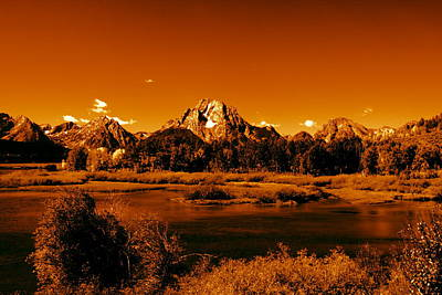 Abstract Landscape Royalty-Free and Rights-Managed Images - Golden Landscape by Aidan Moran