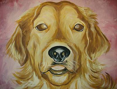 Art Print featuring the painting Golden by Leslie Manley