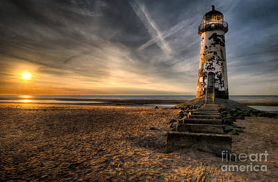 Talacre Photograph - Golden Light by Adrian Evans