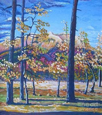 Bfa Painting - Golden Meadow by Vanessa Hadady BFA MA