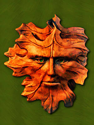 Painting - Golden Oak by John Haldane