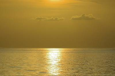 Photograph - Golden Ocean by Bradford Martin
