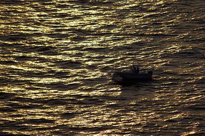 Photograph - Golden Ocean by Miroslava Jurcik