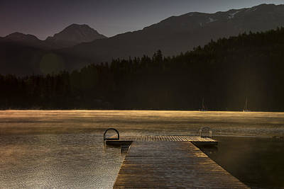 British Columbia Photograph - Golden Opportunity by Aaron Bedell