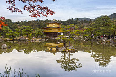 Photograph - Golden Pavilion Kyoto Japan by Colin and Linda McKie
