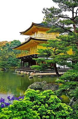 Photograph - Golden Pavilion - Kyoto by Juergen Weiss