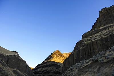Photograph - Golden Peak by Spencer Bodian