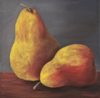 Painting - Golden Pears by Darice Machel McGuire