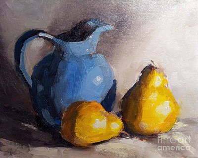 Painting - Golden Pears by Sandra Smith-Dugan