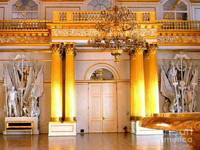 Photograph - Golden Pillars by John Potts