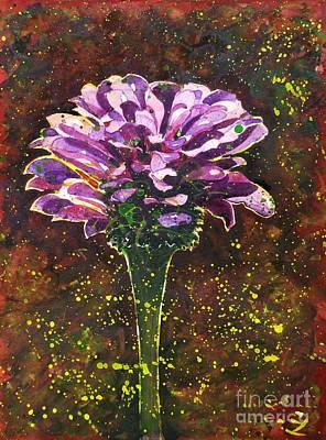 Painting - Golden Pollen by Zaira Dzhaubaeva
