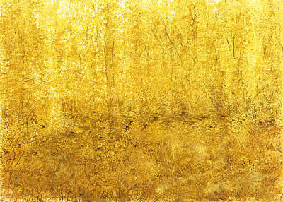 Acclaim Painting - Golden Quiet Presence by David  Seacord