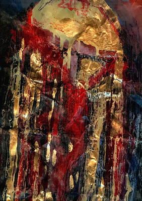 Golden Rain Art Print by Daniel Bonnell