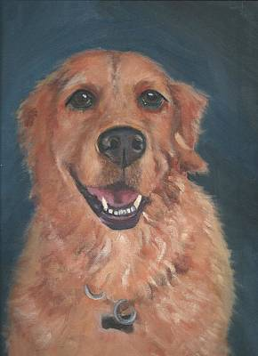 Painting - Golden Retriever by Jessmyne Stephenson