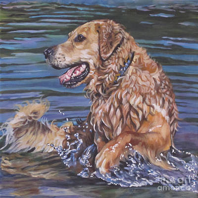 Golden Retriever Painting - Golden Retriever  by Lee Ann Shepard