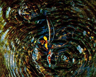 Golden Ripples Art Print by Lehua Pekelo-Stearns