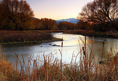 Photograph - Autumn On The Provo River. by Johnny Adolphson
