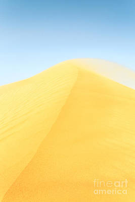 Empty Quarter Photograph - Golden Sand Dune by Matteo Colombo