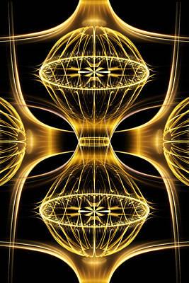 Phil Clark Digital Art - Golden Shimmer by Phil Clark