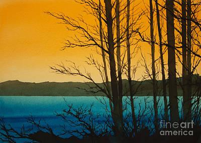 Golden Shore Art Print by James Williamson
