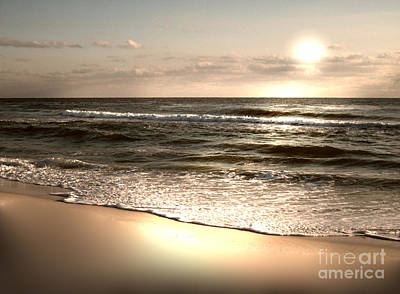 Golden Shoreline Art Print by Jeffery Fagan