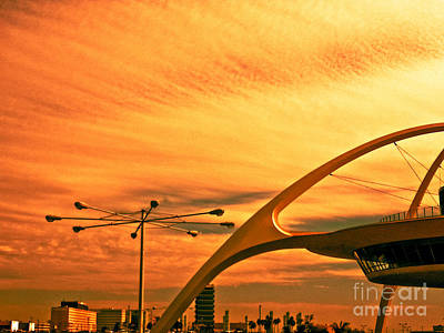 Photograph - Golden Sky by Fei A