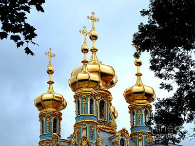 Photograph - Golden Spires Of Russia by John Potts