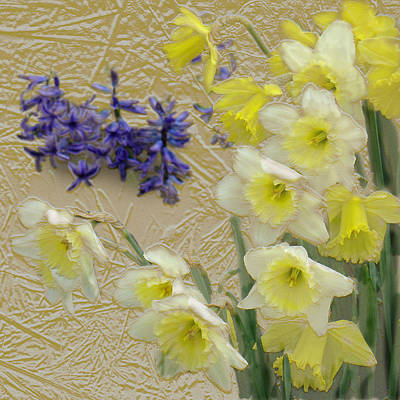 Digital Art - Golden Spring by Steve Karol